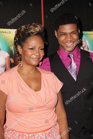 Tonya Pinkins and son