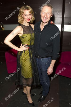 Leigh Zimmerman (Miranda Frayle) and Rory Bremner (Crestwell)