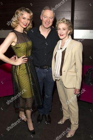 Leigh Zimmerman (Miranda Frayle), Rory Bremner (Crestwell) and Patricia Hodge (Felicity)