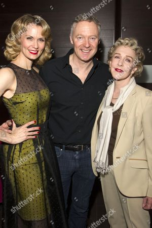 Editorial photo of 'Relative Values' Play after party at Mint Leaf, London, Britain - 14 Apr 2014