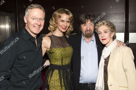 Editorial image of 'Relative Values' Play after party at Mint Leaf, London, Britain - 14 Apr 2014