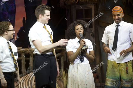 Editorial picture of 'Book of Mormon' play at Prince of Wales Theatre, London, Britain - 14 Apr 2014