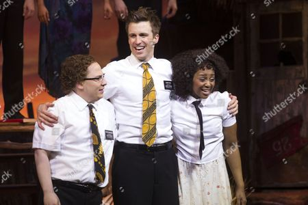 Editorial photo of 'Book of Mormon' play at Prince of Wales Theatre, London, Britain - 14 Apr 2014