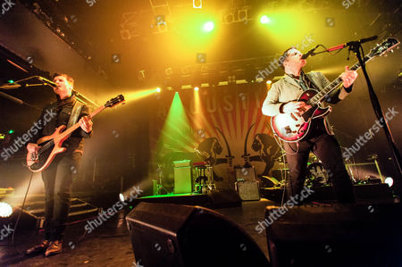 Editorial photo of Augustines in concert at KOKO, London, Britain - 14 Apr 2014