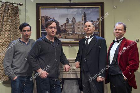 Stephen Mangan, Matthew Macfadyen, Mark Heap and Robert Webb