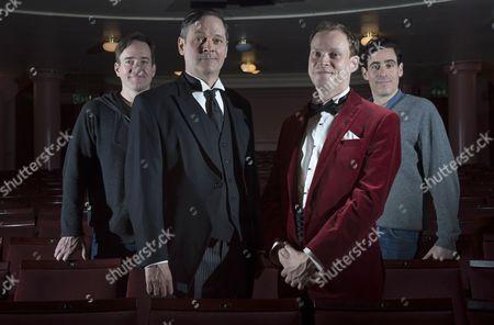 Matthew Macfadyen, Mark Heap, Robert Webb and Stephen Mangan