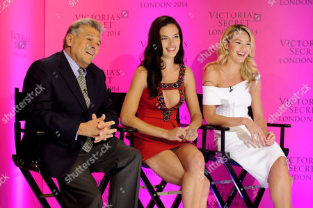 Editorial image of Victoria's Secret Fashion Show in London announcement photocall, London, Britain - 15 Apr 2014