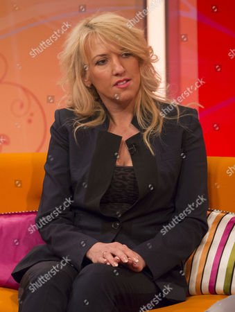 Editorial photo of 'Lorraine Live' TV Programme, London, Britain - 15 Apr 2014