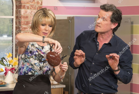 Ruth Langsford and Willie Harcourt-Cooze.