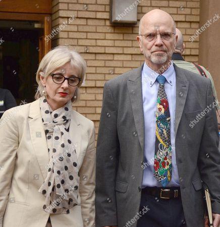 Lois Pistorius and Arnold Pistorius