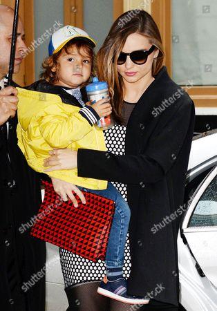 Miranda Kerr with son Flynn Bloom