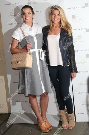 Helen Flanagan and Karis Kennedy and Guest