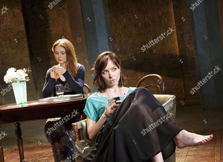Olivia Hallinan (Olga), Emily Taaffe (Masha)