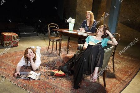 Holliday Grainger (Irina), Olivia Hallinan (Olga), Emily Taaffe (Masha)