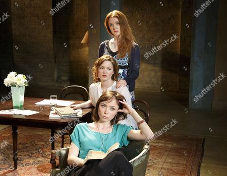 Emily Taaffe (Masha), Holliday Grainger (Irina), Olivia Hallinan (Olga)
