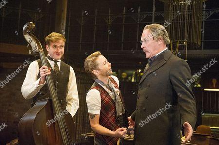 Joe Bannister as Sebastian. Lisa Dillon as Moll, David Rintoul as Sir Alexander