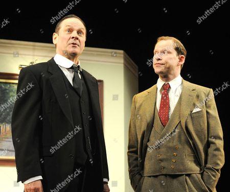 Mark Heap as Jeeves, Robert Webb as Wooster,