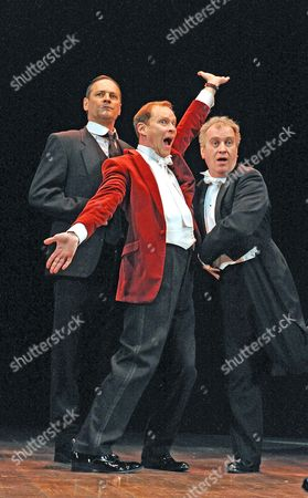 Mark Heap as Jeeves, Robert Webb as Wooster, Mark Hadfield