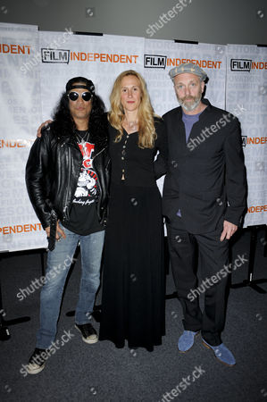 Charlie Paul, Lucy Paul and Slash