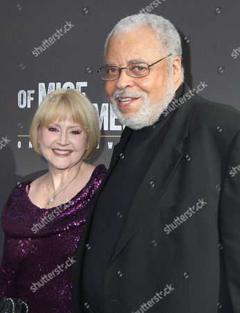 James Earl Jones and wife Cecilia Hart