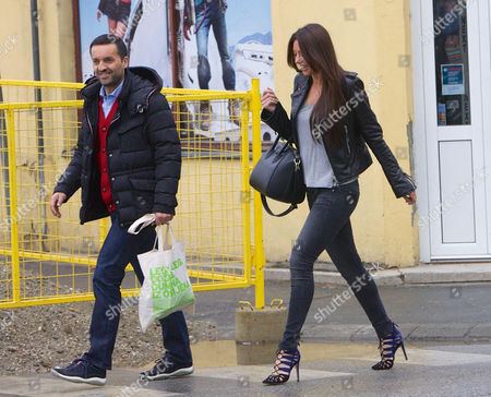 Stock Picture of Luka Saric and Monika Jakisic