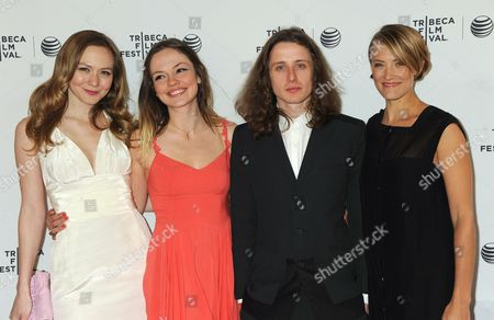 Louisa Krause, Emily Meade, Rory Culkin and Alexia Rasmussen