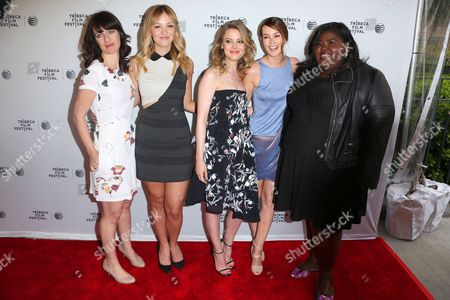 Susanna Fogel, Abby Elliott, Gillian Jacobs, Leighton Meester and Gabby Sidibe