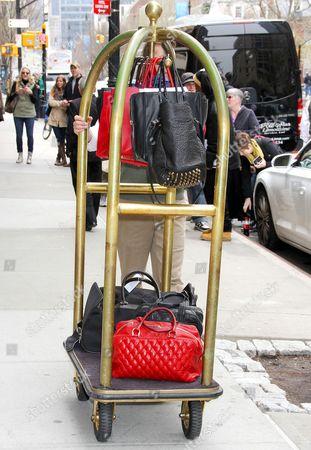 Christina Aguilera's luggage
