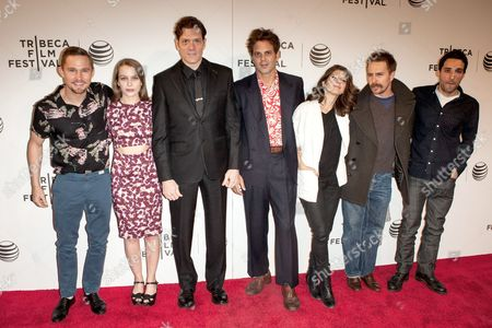 Marisa Tomei, Ivan Martin, writer Michael Godere, Adam Rapp, Isabelle McNally, Bryan Geraphty and Sam Rockwell