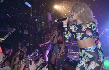 Editorial photo of Neon Jungle in concert at G-A-Y, London, Britain - 19 Apr 2014