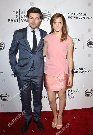 Roberto Aguire and Emma Watson