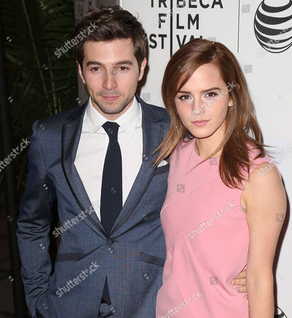 Stock Image of Emma Watson and Roberto Aguire