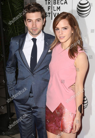 Stock Picture of Emma Watson and Roberto Aguire
