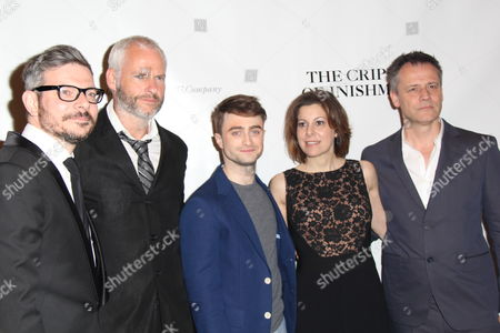 James Bierman, Playwright Martin McDonagh, Daniel Radcliffe, Arielle Tepper Madover, Director Michael Grandage
