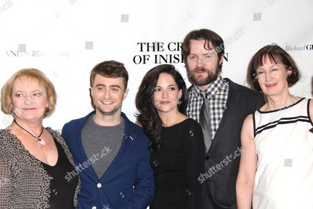 June Wilson, Daniel Radcliffe, Sarah Greene, Padraic Delaney, Ingrid Craigie