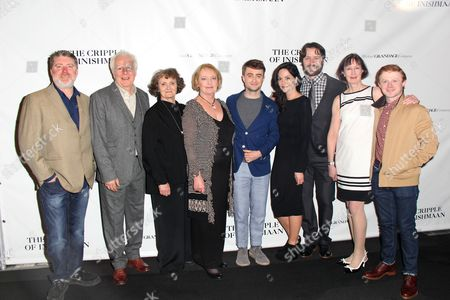 Editorial image of 'The Cripple of Inishmaan' play opening night, New York, America - 20 Apr 2014