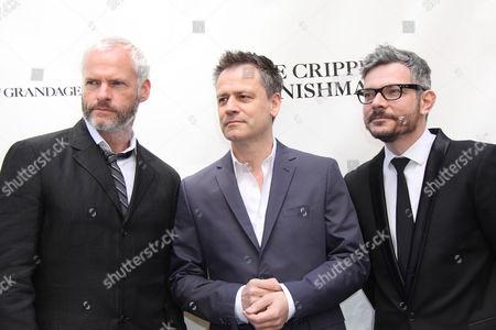 Stock Picture of Martin McDonagh, Michael Grandage, James Bierman