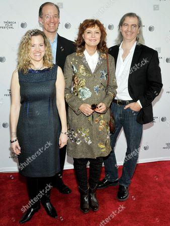 Thomas Drake, Jesselyn Radack, Susan Sarandon and James Spione