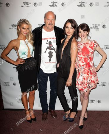 Editorial image of 'Zombeavers' film premiere at the Tribeca Film Festival, New York, America - 19 Apr 2014