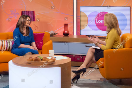 Editorial photo of 'Lorraine Live' TV Programme, London, Britain - 22 Apr 2014