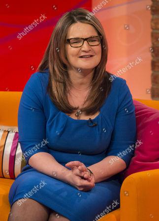 Editorial image of 'Lorraine Live' TV Programme, London, Britain - 22 Apr 2014