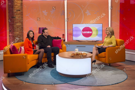 Jasmyn Banks and Shaun Williamson with Helen Fospero