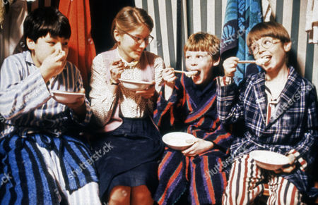 Stock Picture of A Feast at Midnight, Freddie Findlay (3rd from left)