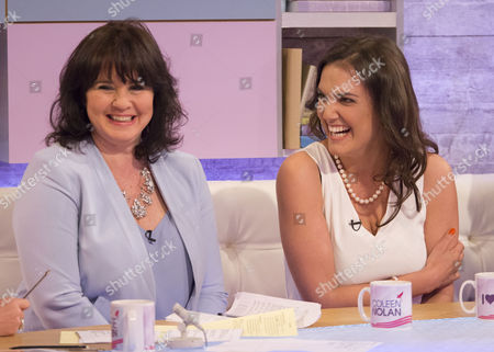 Stock Image of Coleen Nolan and Yasmina Siadatan