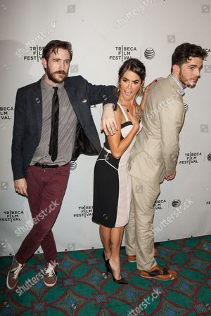 Brian McElhaney, Nikki Reed and Nick Kocher