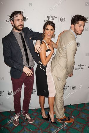 Stock Picture of Brian McElhaney, Nikki Reed and Nick Kocher