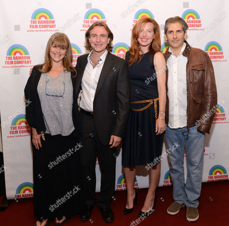 Stock Image of Eliza Roberts, Ron Vignone, Tanna Frederick and Michael Imperioli