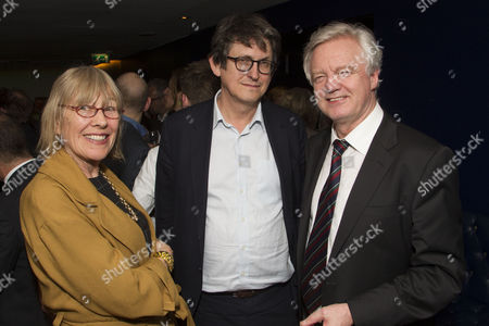 Stock Image of Lindsay Mackie, Alan Rusbridger and David Davis