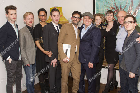 Harry Davies, Gunnar Cauthery, Nina Sosanya, James Graham, Josh Cohen, Paul Chahidi, Michelle Terry, Josie Rourke, Jonathan Coy and Joshua McGuire