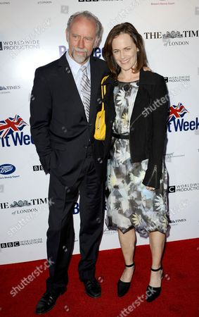 Xander Berkeley and Sarah Clarke